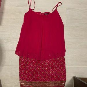 Laundry by Shelli Segal Hot Pink dress